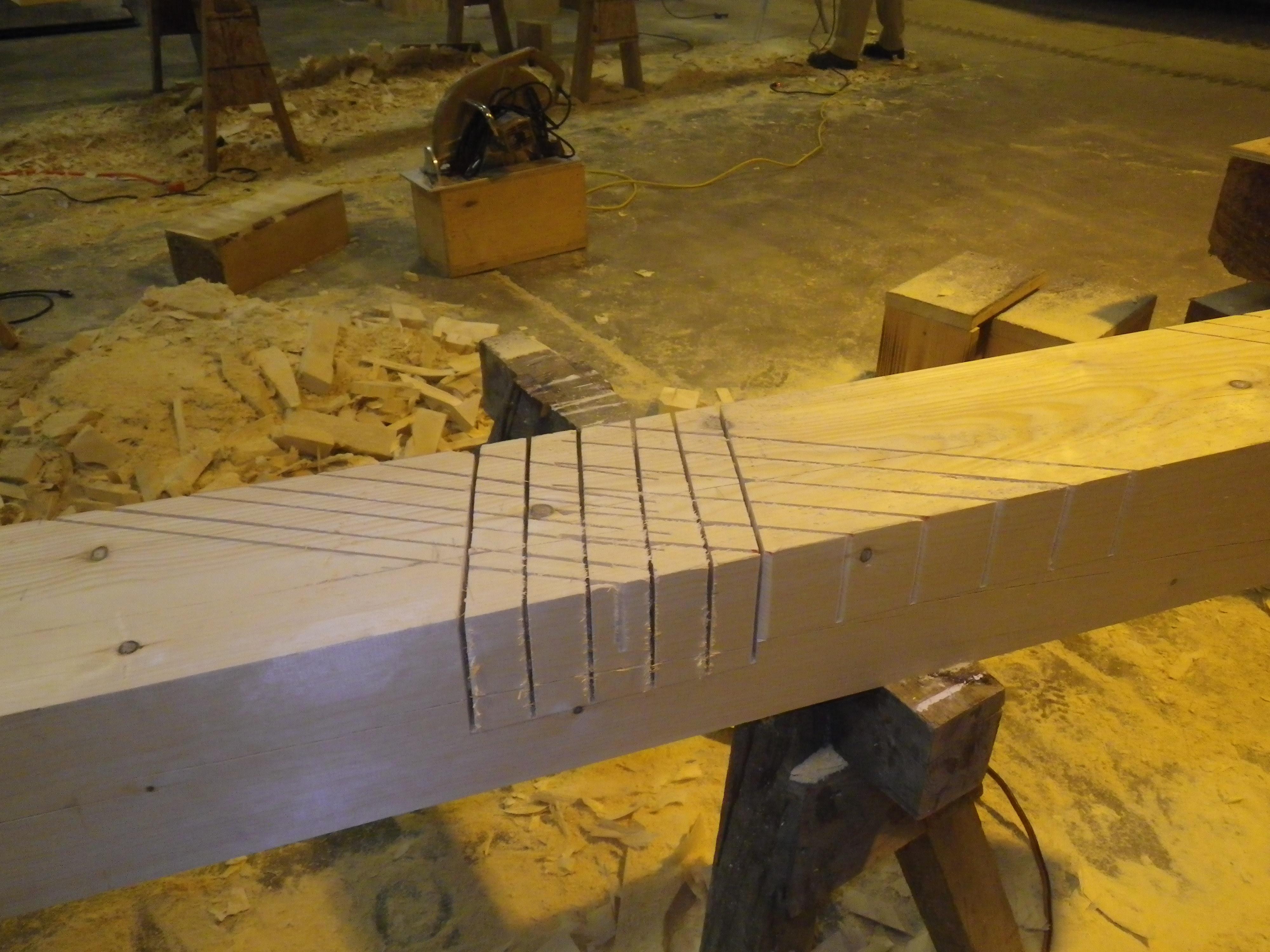 Scissor trusses for Kansas « GFD Woodworking