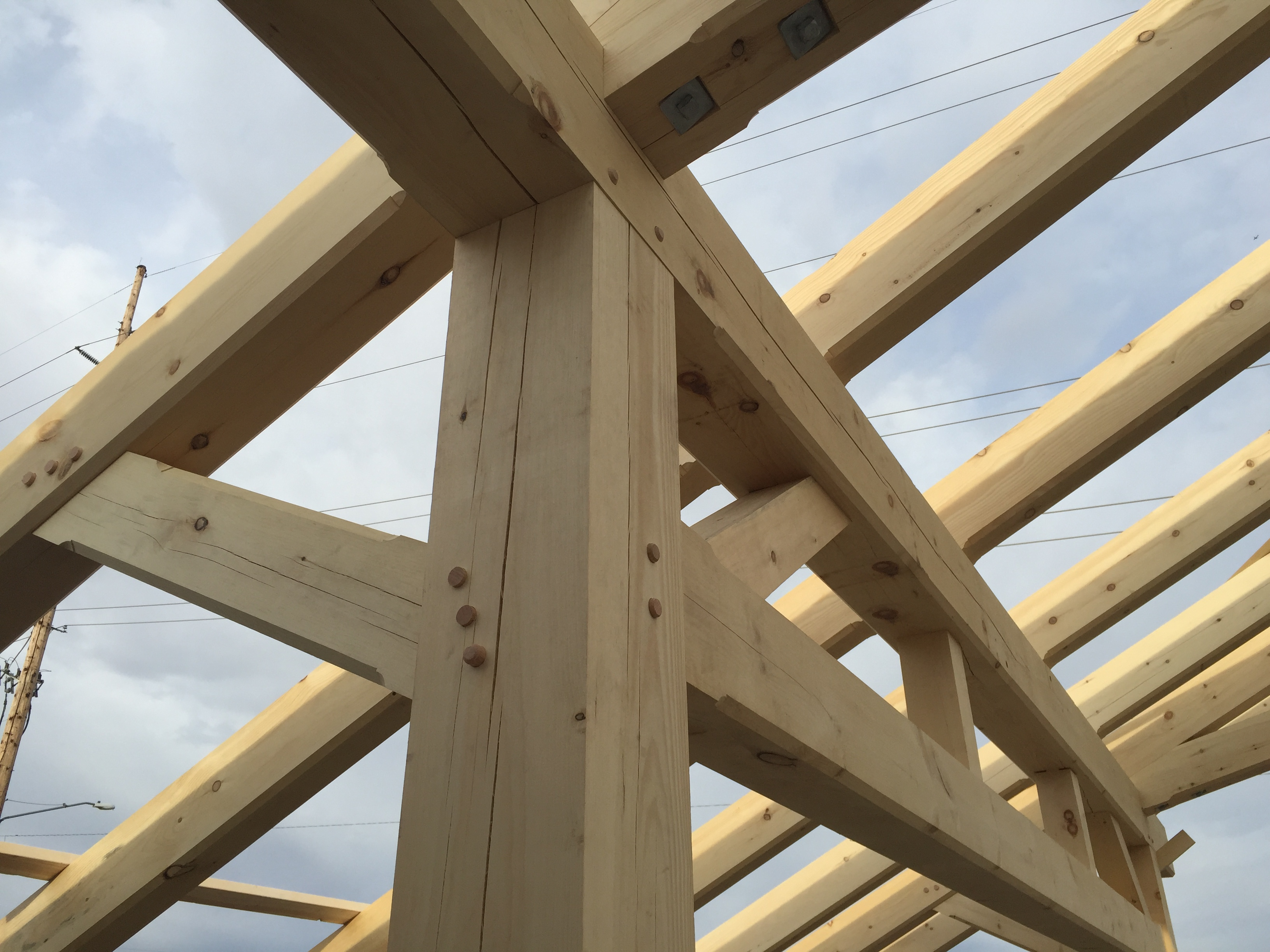 Scissor Trusses For Kansas 171 Gfd Woodworking