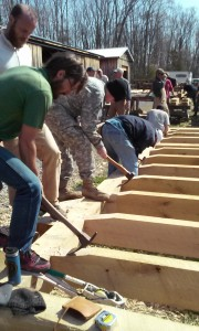 VMI Timber framing FTX 2016 foot adze