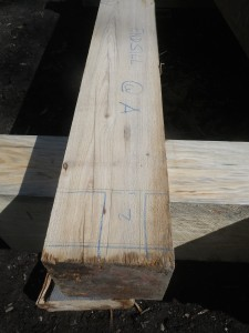 Cyprus sill timbers